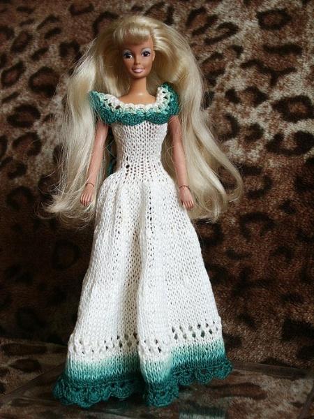 Одежды для куклы барби платья пальто