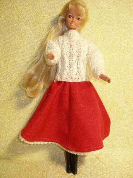 Для куклы барби как сшить одежду для