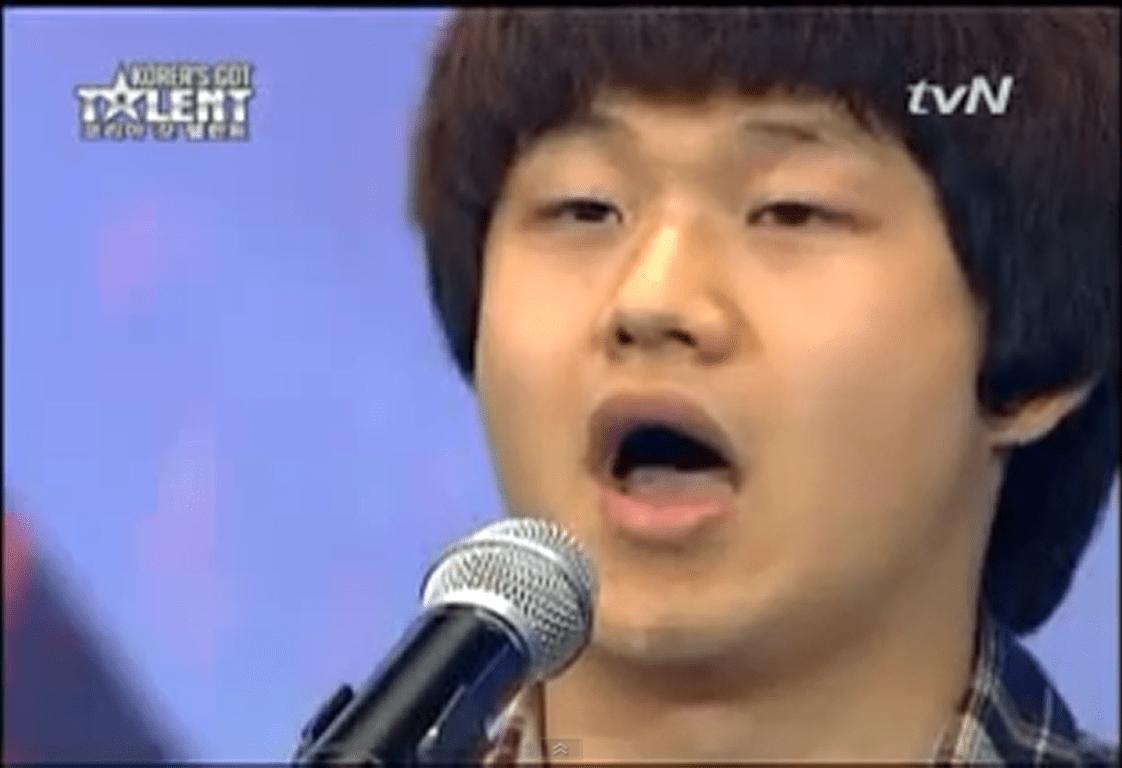 корейский певец, талантливые певцы, конкурсы певцоы
