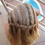 Прически для детей. Плетение кос