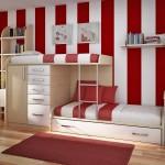 дизайн детской комнаты для двоих, двухъярусные кровати, как сделать кровать, детская комната