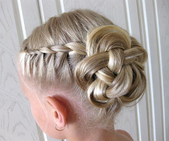 Плетение из волос кос 119