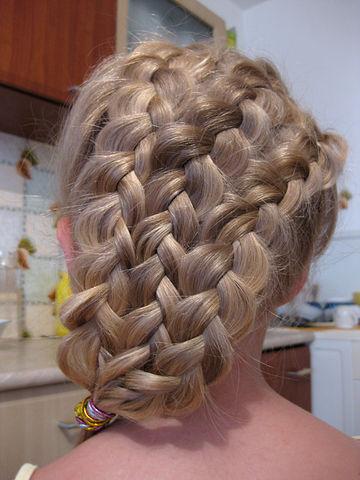 Прически с косами на длинные волосы своими