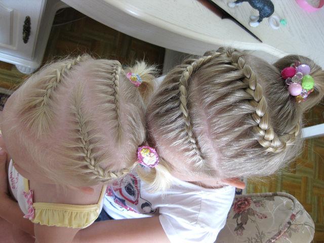 Детские причёски для девочек фото в школу