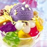 рецепты мороженого,мороженное,как подать мороженое,соусы к мороженому,оформить мороженое,день рождение,оформить красиво стол
