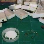 комод из спичечных коробков, поделки из бумаги, поделки из спичек, поделки для детей